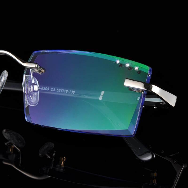 ... Bingkai kacamata rabun dekat Model pria Sangat Ringan tanpa bingkai  Bingkai Kacamata pasang optik produk jadi ... 50678554bc