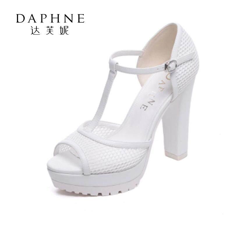 Daphne/Daphne Sandal Summer Hak Tebal Kain jaring bernafas modis Platform tahan air perempuan Sandal Summer 1016303005