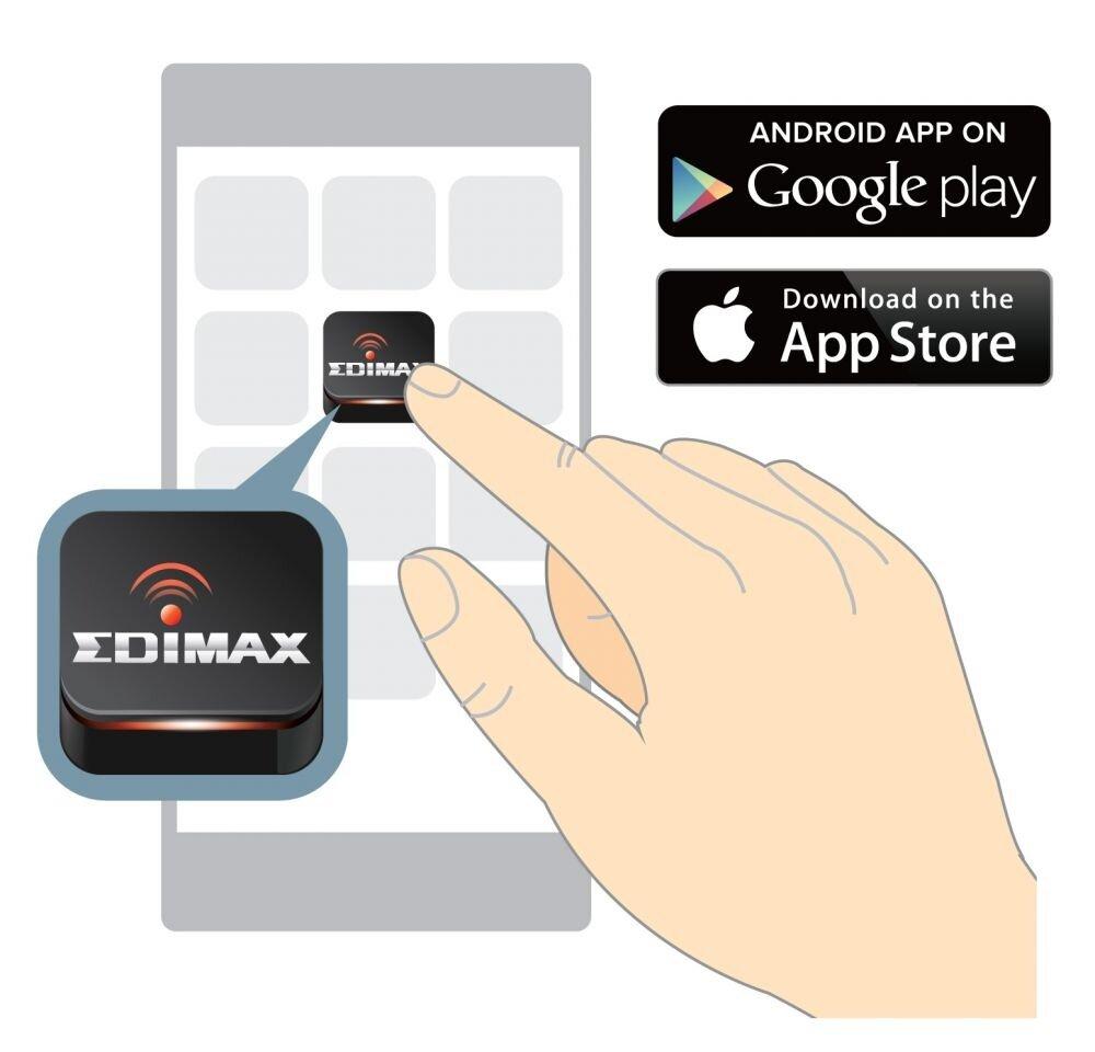 Edimax N300 Smart Wi-Fi Extender with EdiRange App EW-7438RPn_Air_Smart_App_Control.jpg