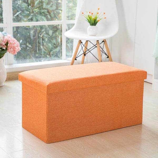 Footstool Storage Stool Sofa Stool Can Sit Fabric Simple Storage Shoe Rack Bench Foldable Toy Boxes Small Sofa