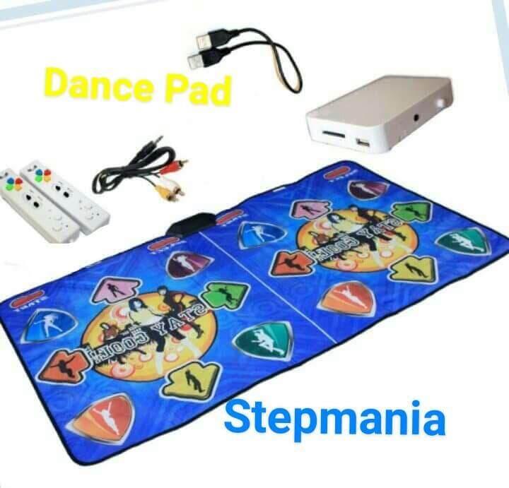 Stepmania Coilmix แผ่นเกมส์เต้นแบบเต้นคู่ ระบบไร้สาย พร้อมจอยคู่ไร้สาย ต่อtvเล่นได้ ภาพคมชัด.