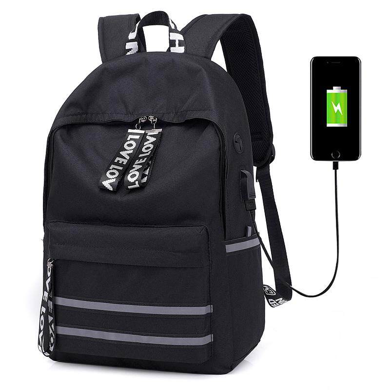 Backpack Men Korean Style Youth Computer Travel Campus Junior High School  Schoolbag man Fashion Backpack 1b3569dcbd880