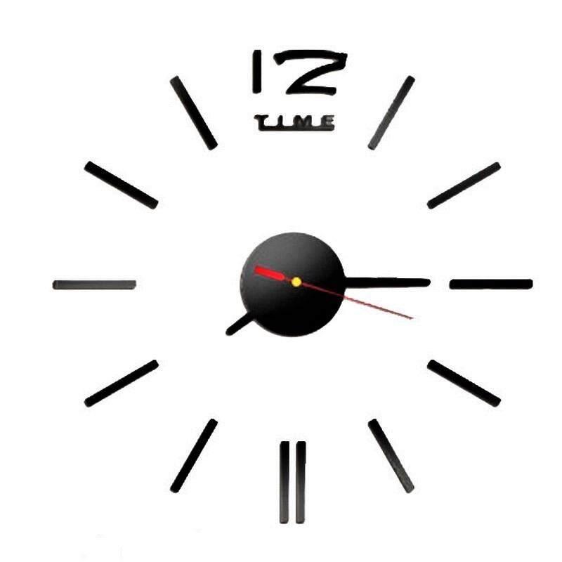 โปรโมชั่น Trusty นาฬิกาติดผนัง 12 Time ของแต่งบ้าน ยอดฮิต Diy Code 122X สีดำ