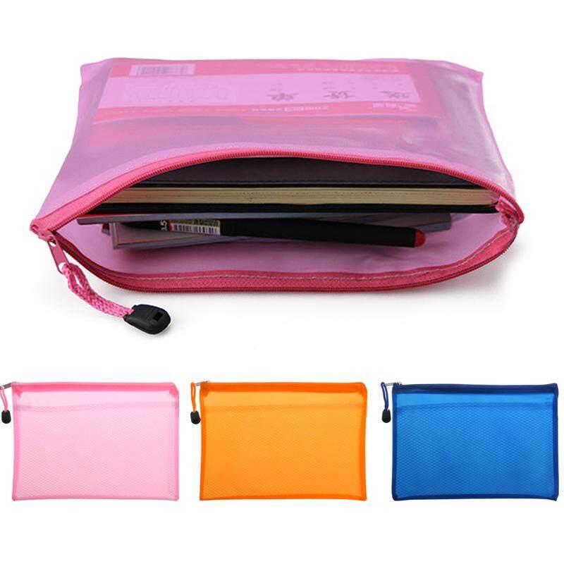 Mua 2pcs Bag A5 Zipper File Pocket Storage Organizer Office School Waterproof - intl