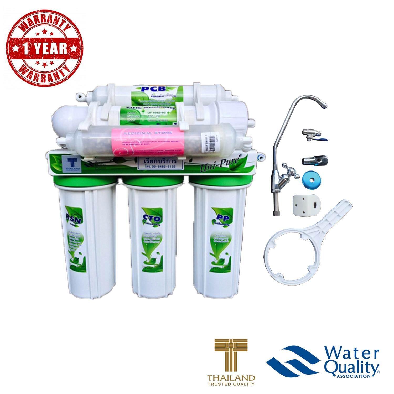 ราคา Uni Pure Green เครื่องกรองน้ำดื่ม 6 ขั้นตอน ระบบ Uf คุณภาพการกรอง 01 ไมครอน มีแร่ธาตุ ใน ไทย
