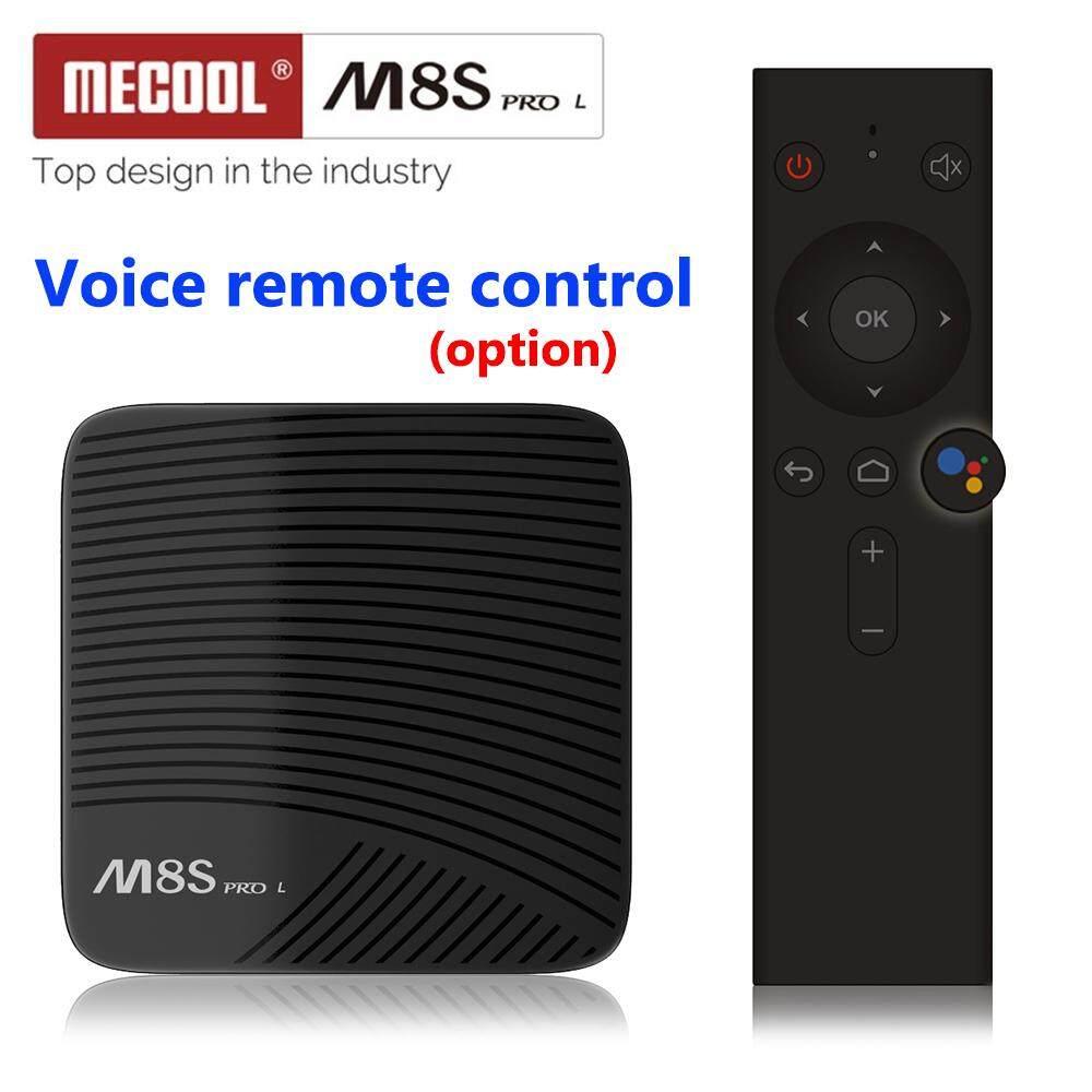 2018 ใหม่ล่าสุด Mecool M8s Pro L Smart Box Android 7.1 Amlogic S912 3 กิกะไบต์ Ram 16 กิกะไบต์ Rom 5 กรัม Wifi Bt4.1 กล่องแอนดรอยด์ด้วยเสียงรีโมทคอนโทรล (m8s Pro 3 + 16 Voice Control Version) By Shenzhen Chang Kin Poh Trading Ltd.