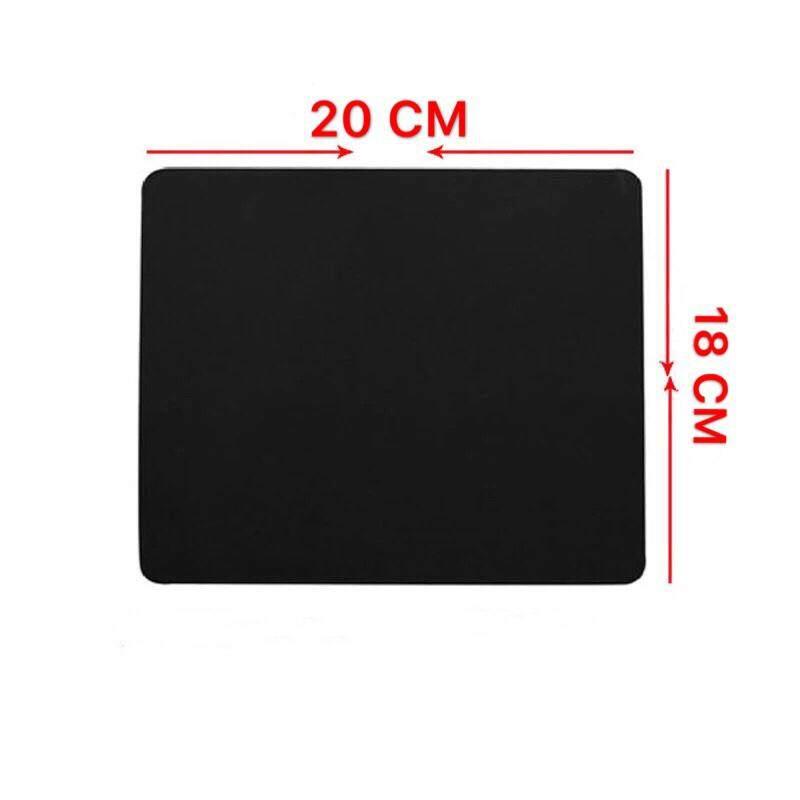 Surface แผ่นรองเมาส์ Mouse Pad (แบบผ้า) Surface-1030 (black) 20x18cm.