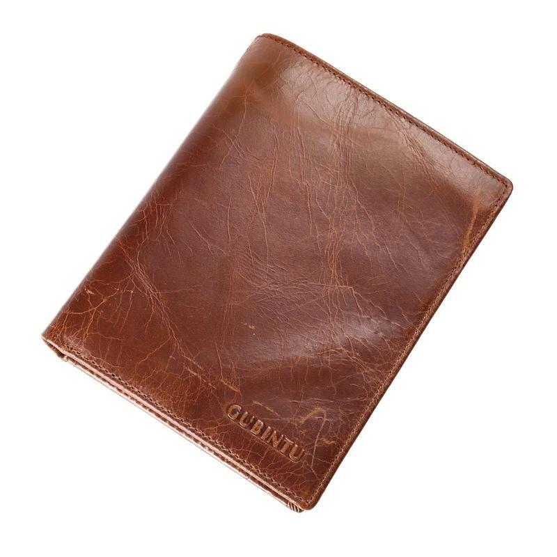 ... Gubintu Paspor Kulit Pemegang Tas Paspor Lapisan Pertama Kulit Retro Sertifikat Kartu Boarding Dompet Kartu Paket