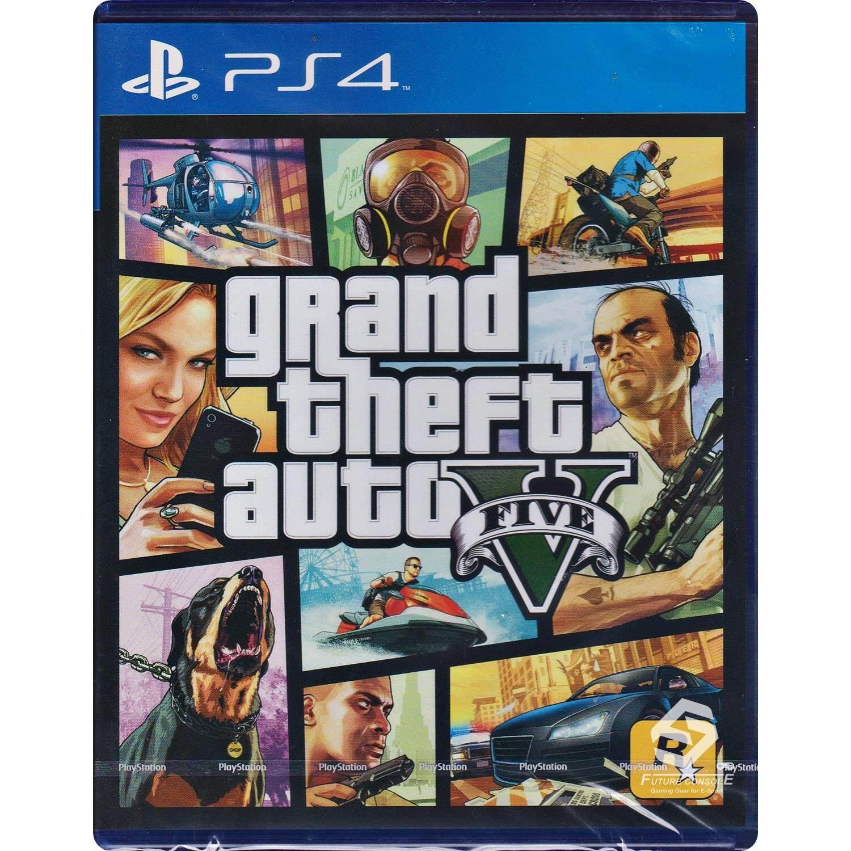 PS4 Game Grand Theft Auto V (GTA 5) [Zone 3/Asia]