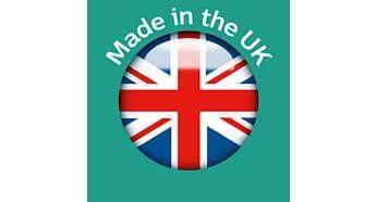 ผลิตขึ้นที่ไซต์ที่ได้รับรางวัลของเราในสหราชอาณาจักร