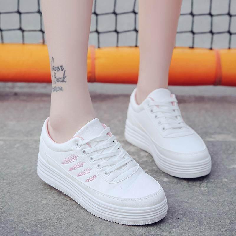 Sepatu putih kecil wanita 2018 model baru musim semi dan musim gugur netral  Gaya Korea bernapas e6b811249a