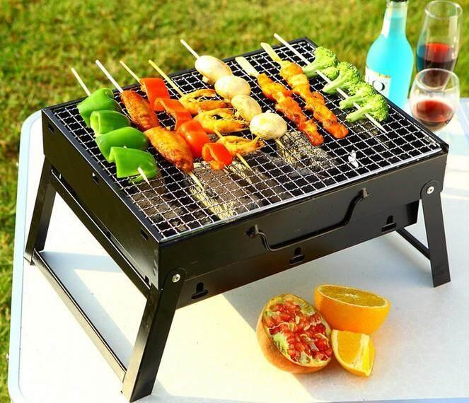 Bbq Grill Portable Bbq Grill เตาปิ้งย่าง เตาปิ้งย่างพกพา เตาบาร์บีคิว เตาย่าง เตาบาร์บีคิว พับได้ น้ำหนักเบา Bbq Barbecue .