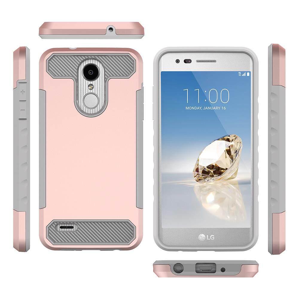 For LG Aristo 2 X210/LG Tribute Dynasty SP200/Lv3 2018/K8 2018 Non-slip Shockproof Full Protective Back Case