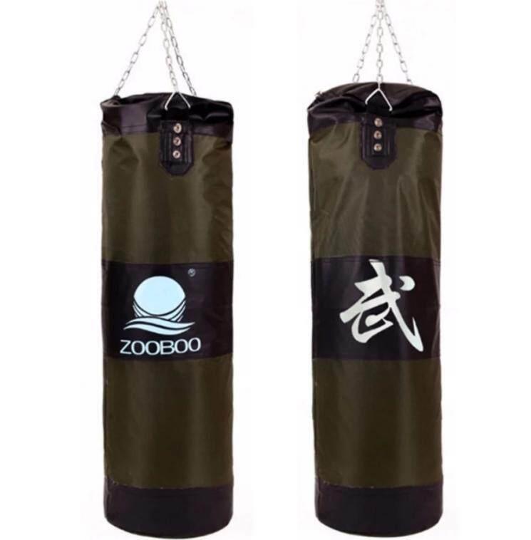 Zooboo ถุงทรายล้างมวยเจาะถุงทรายห่วงโซ่การปฏิบัติการฝึกอบรมการต่อสู้.