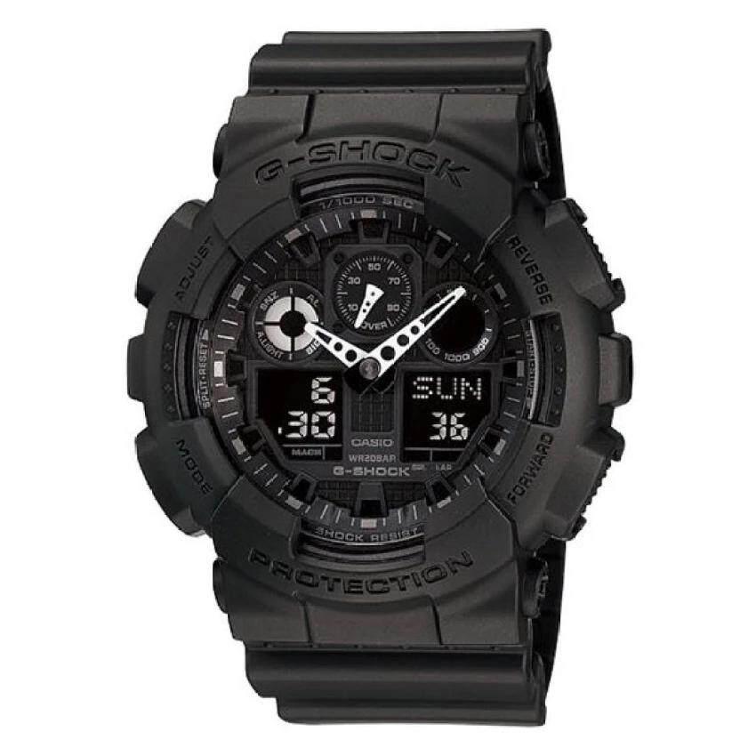 Casio G-Shock นาฬิกาข้อมือ รุ่น Ga-100-1a1dr / Ga-120-1a (สีดำ).