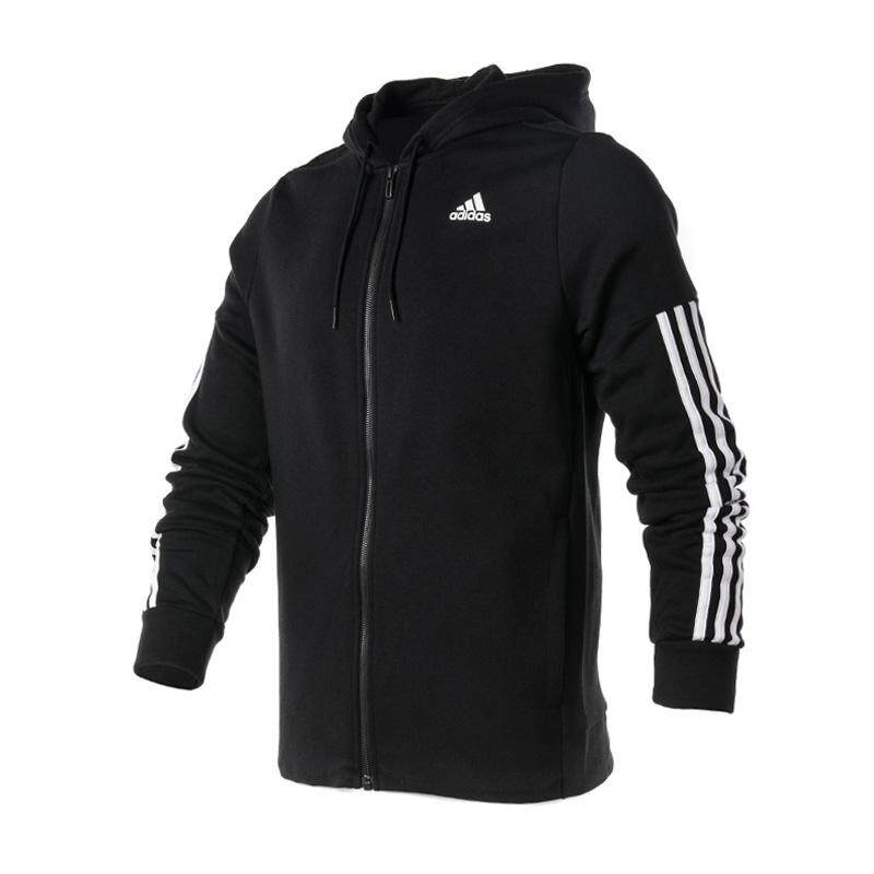 4dfb53b8673 Adidas Men s Wear 2017 New Style Sports Casual Hooded Warm Jacket BR4074