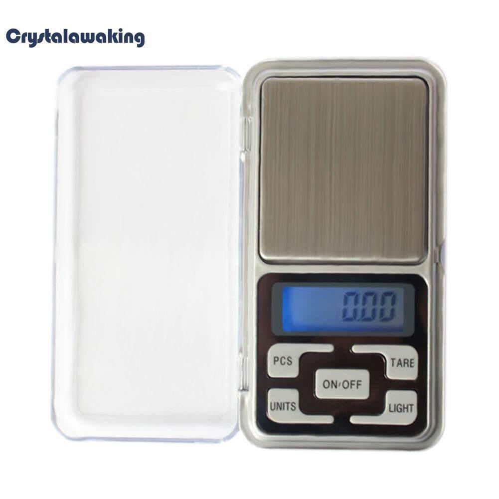 กระเป๋า 200 กรัม X 0.01 กรัมตาชั่งดิจิตอลเครื่องมือ Gold Herb Balance น้ำหนัก.