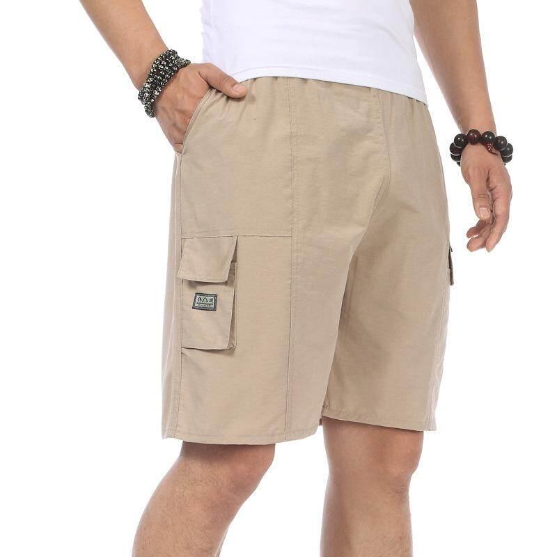 Katun Yang Longgar Laki-laki Remaja Anak Laki-laki Celana Pants Man Pendek (