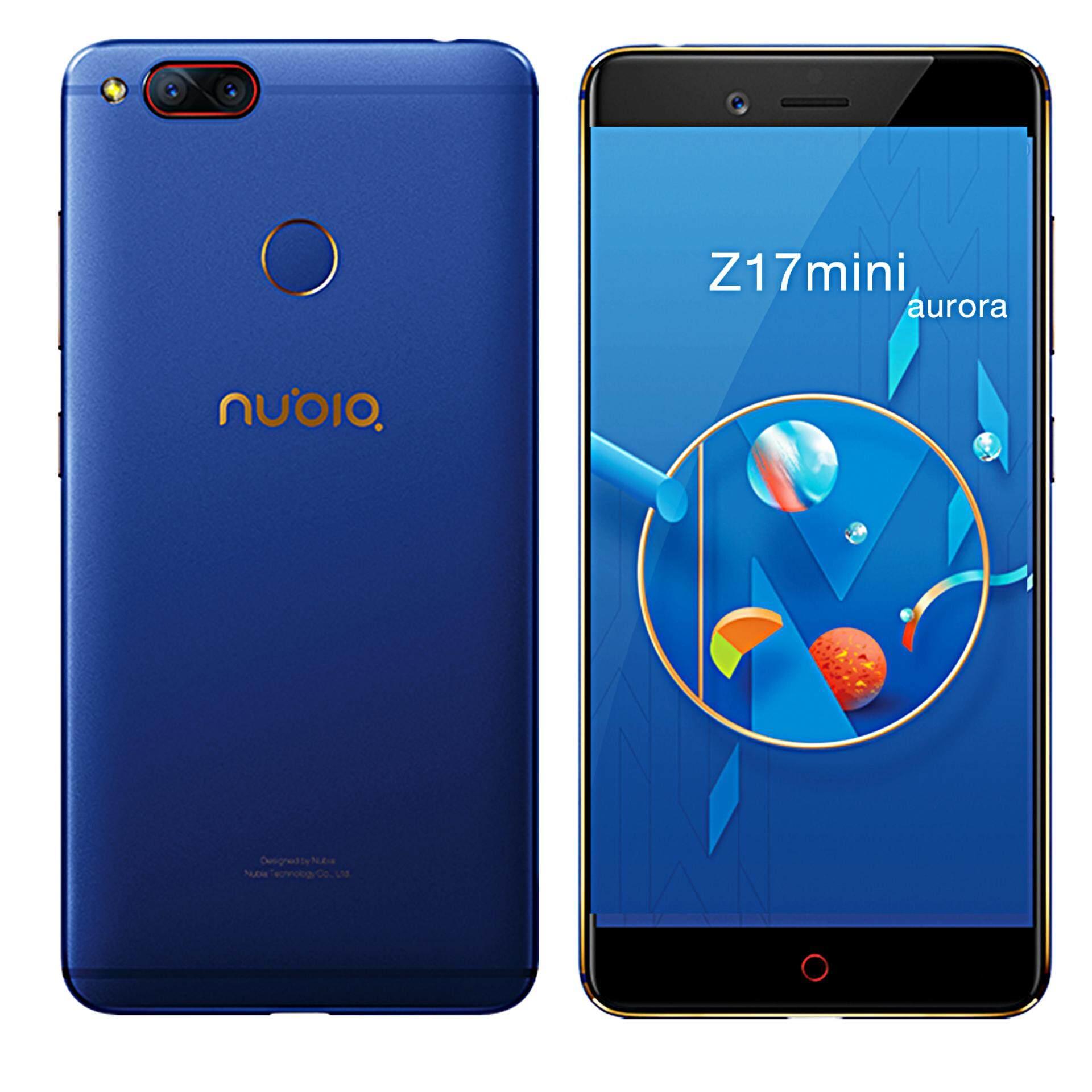 นูเบีย Z17mini สีนำ้เงิน | สเปคแรงแรม 6GB | รุ่นแนะนำ สุดคุ้ม **ผ่อนเดือนละ 899บาท