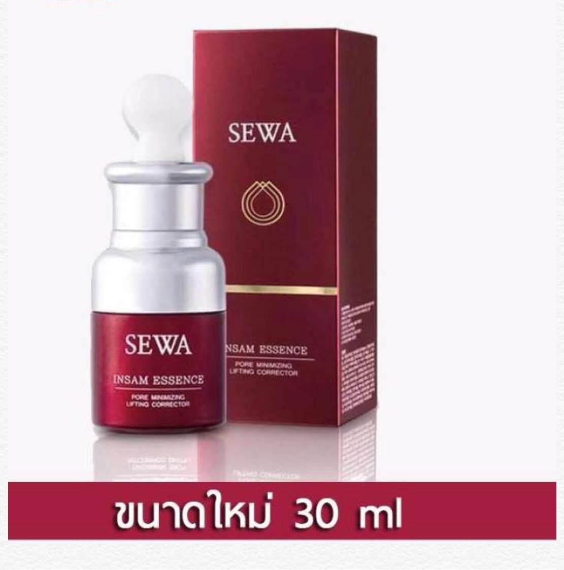 Sewa Insam Essence (1 ขวด = 30 Ml.) เซวา อินซัม เอสเซนส์ น้ำโสมเซวา บำรุงผิวชุ่มชื้น ลดเลือนริ้วรอย ลดจุดด่างดำ กระชับรูขุมขน .