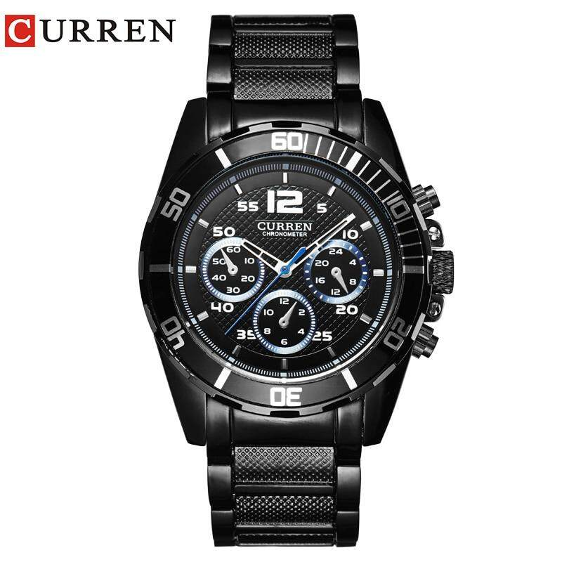 CURREM New Men'BusinesFashion Curren Brand  Men  Casual  Wrist Quartz Watch  8073