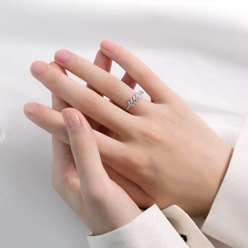 Cincin Perak 925 Wanita Gaya Korea Jepang