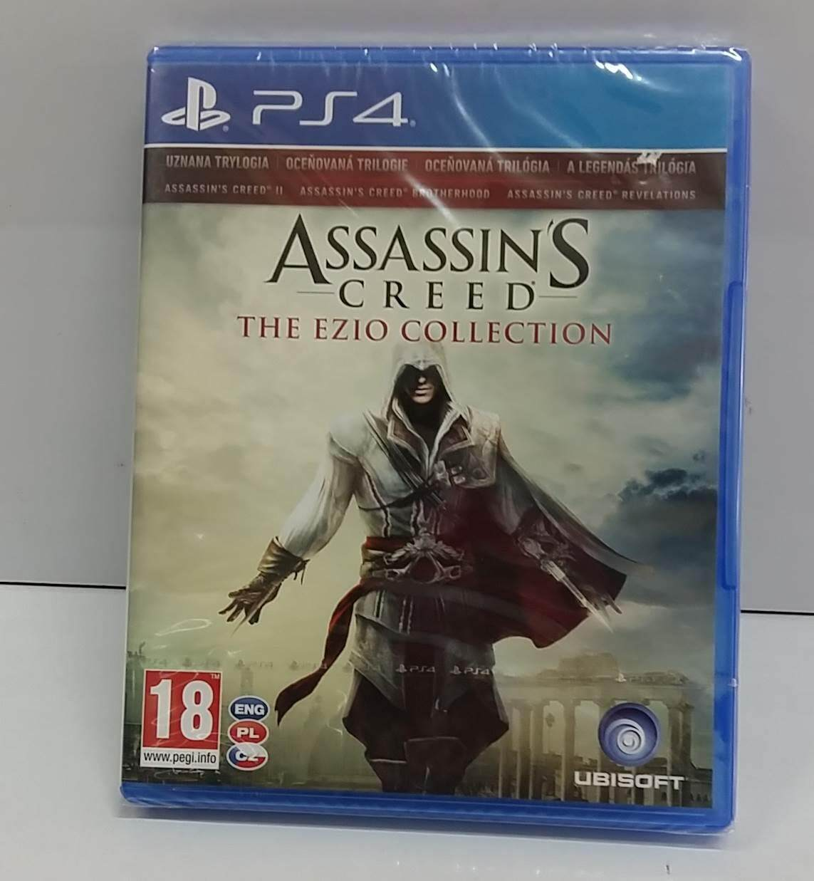 PS4 Game Assassin's Creed The Ezio Collection [Z2 / NEW]