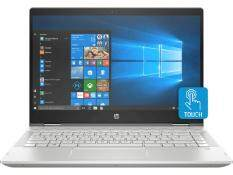 HP Pavilion x360 - 14-cd0068tu ( 4JD19PA) Core i5-8250U 14.0-inch (4GB/1 TB HDD/Windows 10 Home/Intel Graphics HD 620 /2 Years HP Warranty)