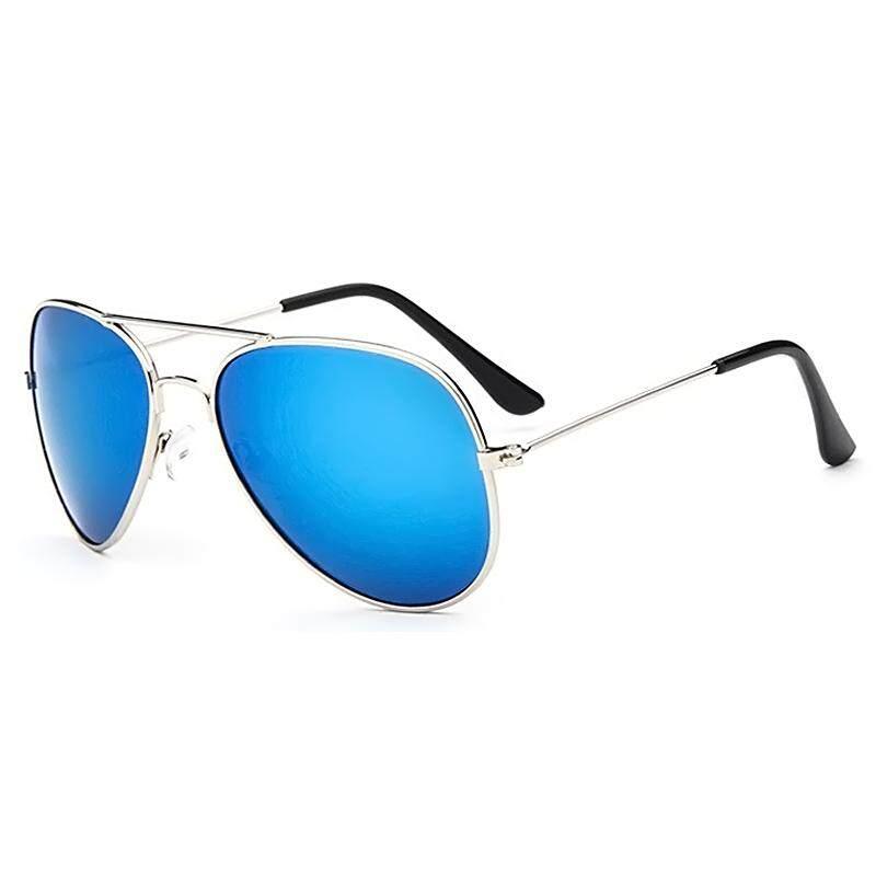 1 Pasang Unisex Anak Cermin Anak Bingkai Logam Lensa Kacamata Kacamata  Hitam untuk Anak-anak fab61c16b1