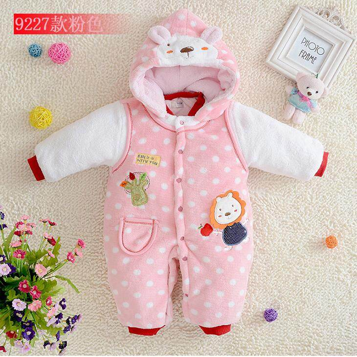 Bayi Musim Dingin Baju Katun Jaket Bayi Baru Lahir Musim Dingin Pakaian Jaket Katun Pria dan