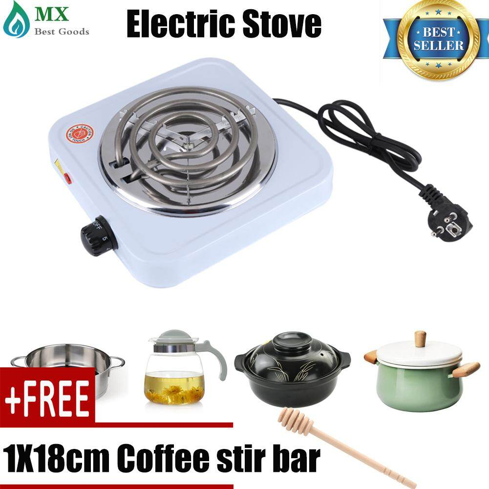 [buy 1 Get 1 Free Gift] 220v 1000w Electric Stove Bur-Ner Kitchen Coffee Hea-Ter Hotplate Cooking Appliances.