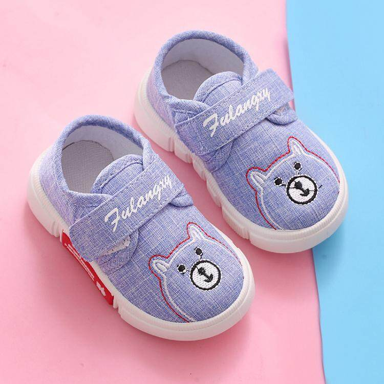 Sepatu belajar jalan Bayi Sepatu lapisan tunggal anak laki-laki anak prempuan