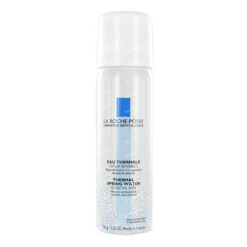 La Roche-Posay Thermal Spring Water Face Spray For Sensitive Skin ลาโรช-โพเซย์ สเปรย์ น้ำแร่ บำรุงผิวหน้า นำเข้าจากฝรั่งเศส 50ml..