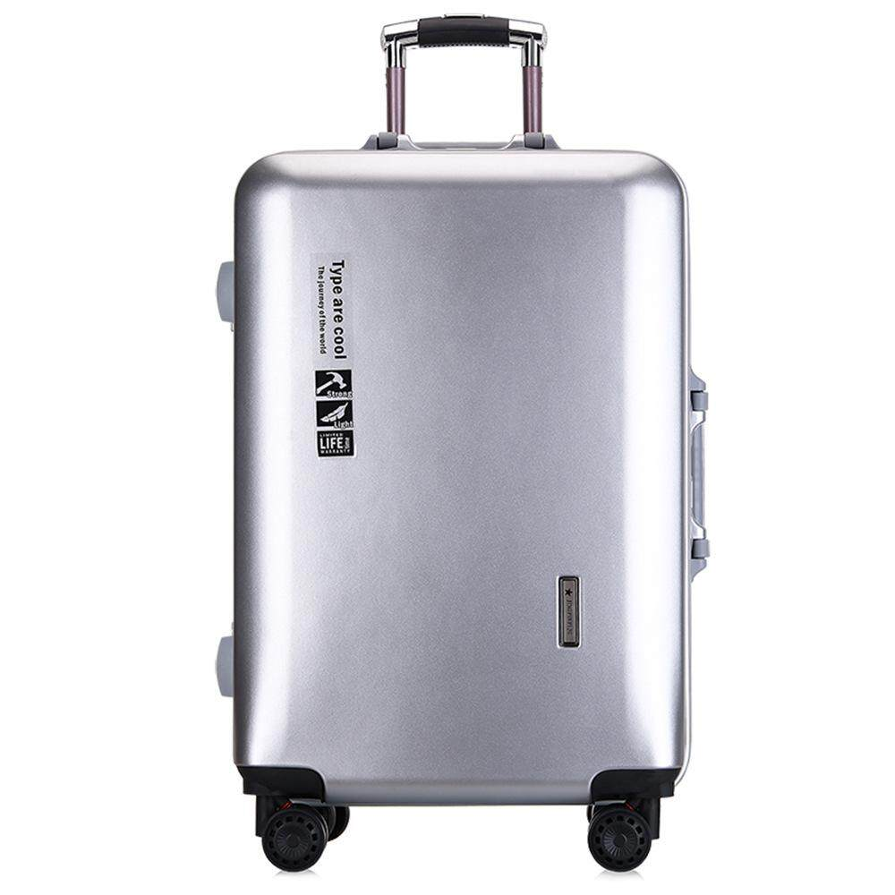 As Aluminum Frame Password Zipper Youth Business Suitcase By Taobao Collection.
