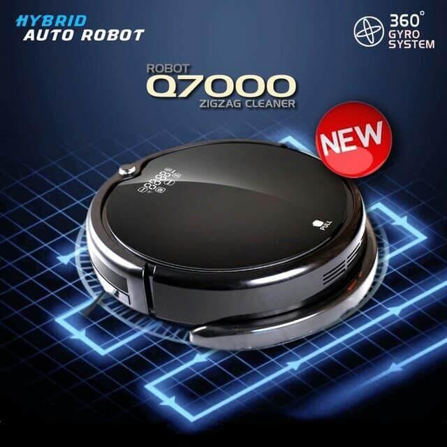 หุ่นยนต์ดูดฝุ่น ถูพื้น Robot Vacuum Q7000 ชาร์จอัตโนมัติ