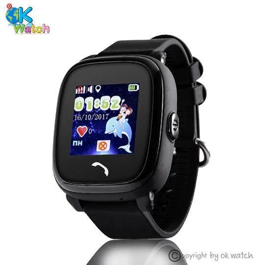 นาฬิกาป้องกันเด็กหาย หน้าจอทัชสกรีนกั้นน้ำ 100% มี GPS โทรได้ รับประกัน 1 ปี  WONLEX รุ่นGW400S (สีฟ้าลายการ์ตูน)