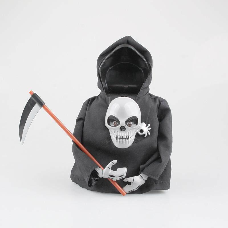 Halloween seluruh manusia boneka horor berteriak induksi tengkorak kepala vokal death sabit boneka boneka Tidak Ditentukan