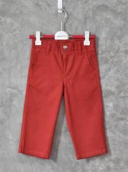 ลดกระหน่ำ 199 ทั้งร้าน!! กางเกงยีนส์เด็กขายาวเนื้อนิ่ม ผ้ายีนส์(สีชิลลี่เรด)**กรุณาอ่านรายละเอียดขนาดและดูการวัดขนาดได้จากภาพ**