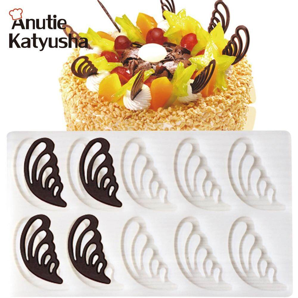 1Pc Angel Wings Shaped Silicone Cake Mold Cake Decorating Tools Fondant Chocolate Mould Pastry Baking Tool