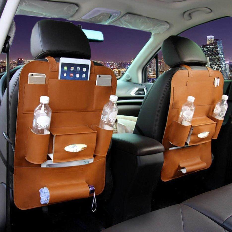 E-ERA Mobil Kursi Belakang Penyelenggara Penyimpanan Perjalanan Pemegang Interior Tas Aksesori Gantungan