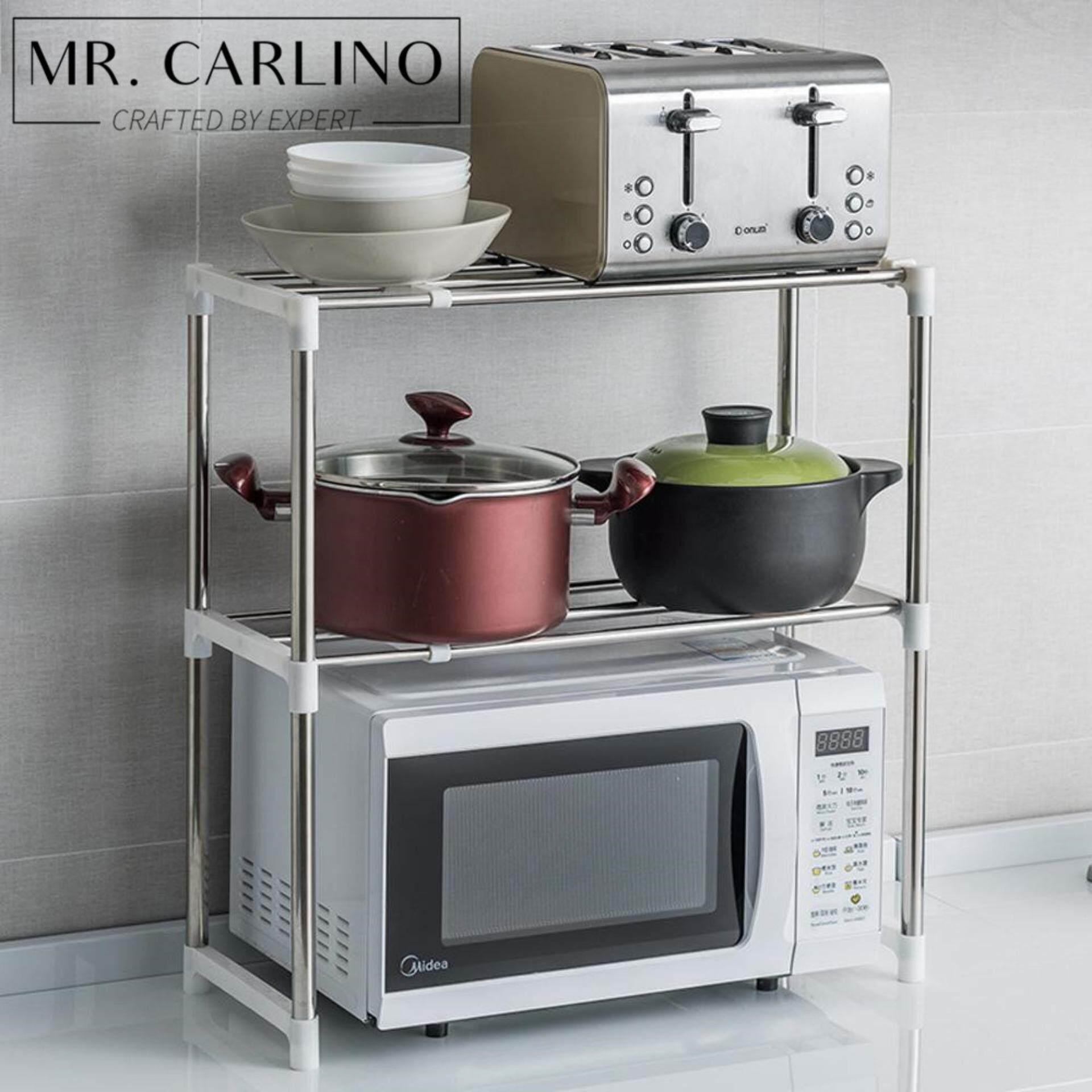 My Home Design: 2 Tiers Kitchen Rack Organizer ชั้นวางของ ชั้นวางเครื่องครัว คุณภาพดี.