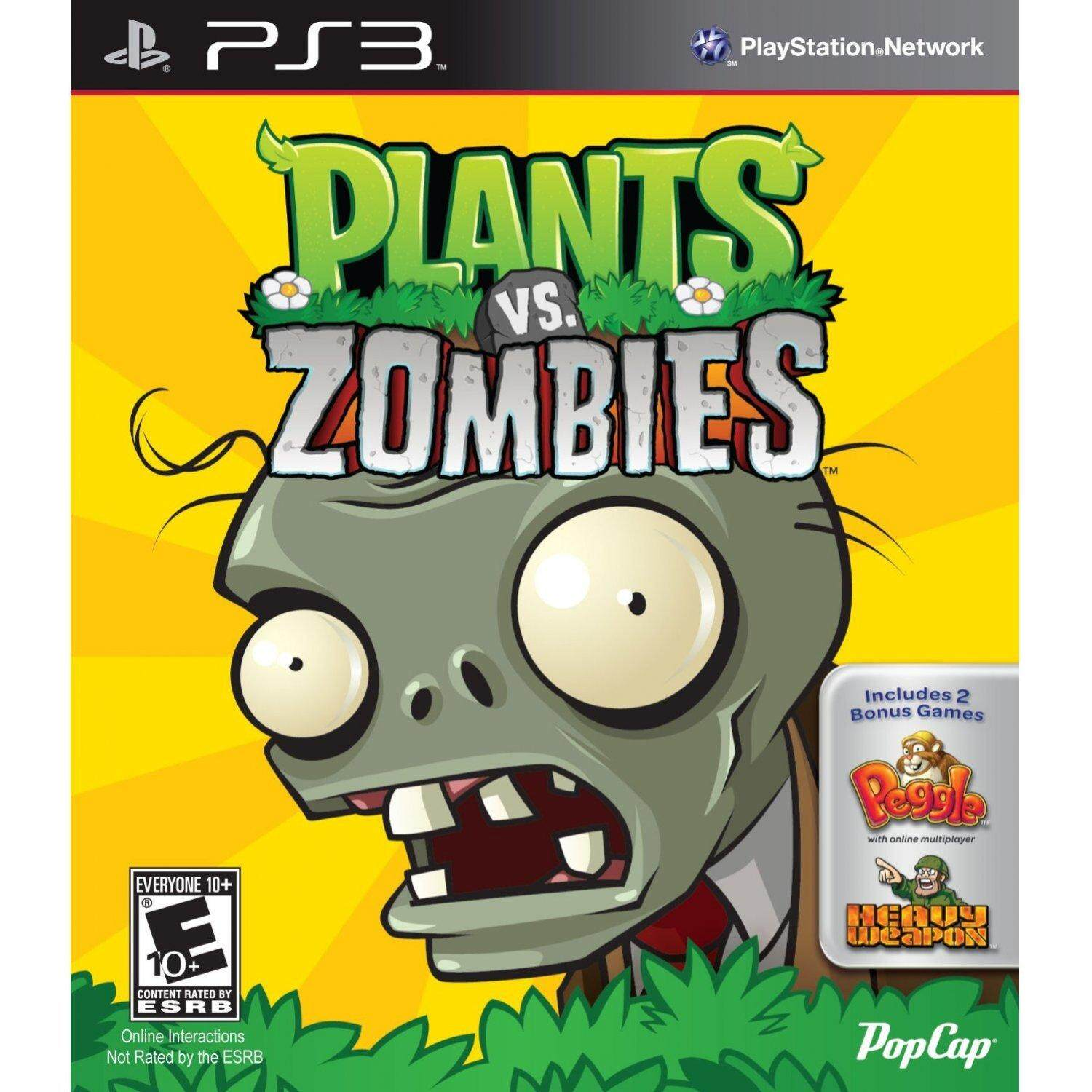 PS3 PLANTS VS ZOMBIES (US)