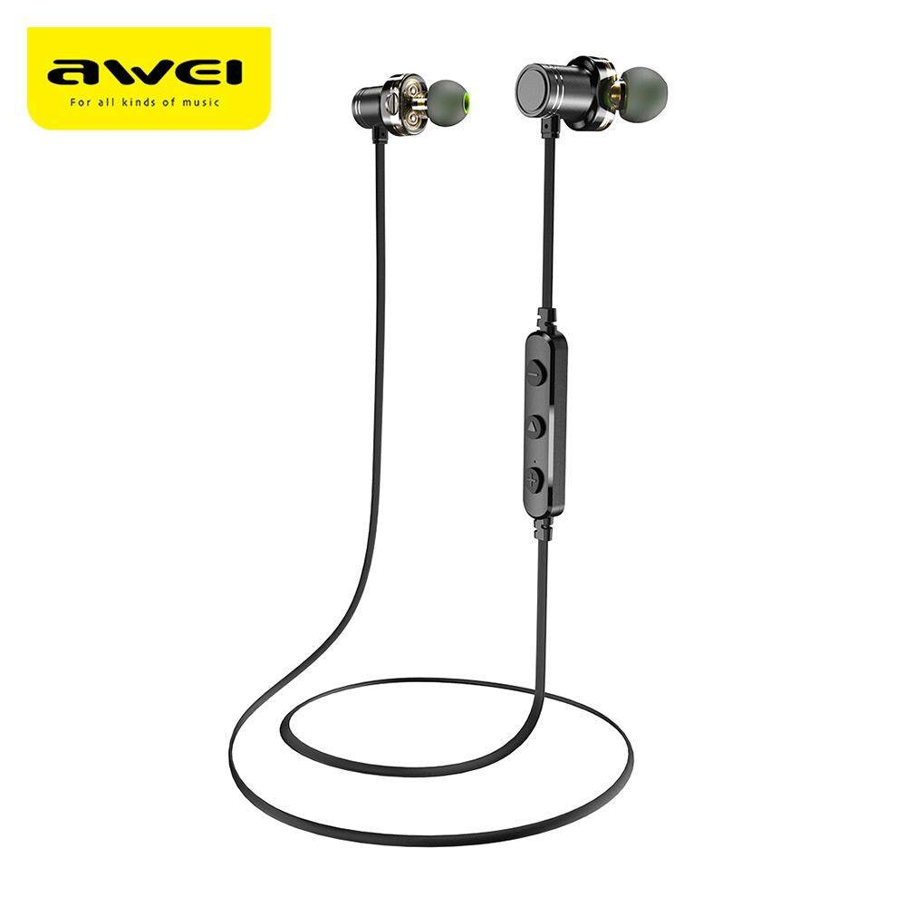 Headphones Headsets Buy At Best Price In Audio Jack Music Bluetooth Receiver Tanpa Kabel Original Awei X670bl Dual Drivers Magnetic Ipx4 Wireless Earbuds Earphone