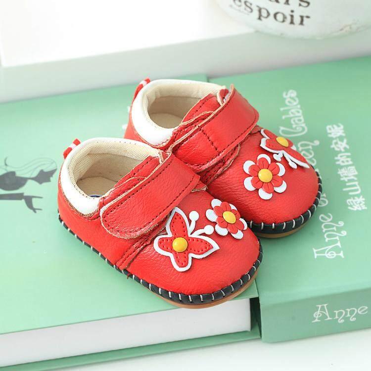 Sepatu Bayi Pijakan Empuk Musim Gugur dan Musim Dingin Anak Prempuan Dalam dan Luar Ruangan
