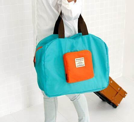 Tas Perjalanan Dapat Dilipat Generasi Kedua Bahu Tas untuk Celana Dalam Sepatu Bra Tas Pakaian