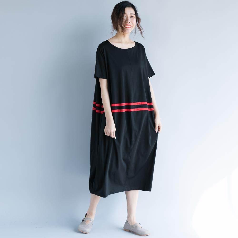 Looesn Lengan Pendek Bagian Tipis Musim Panas Denim Dress Rok Denim Source · Sastra Ukuran Besar