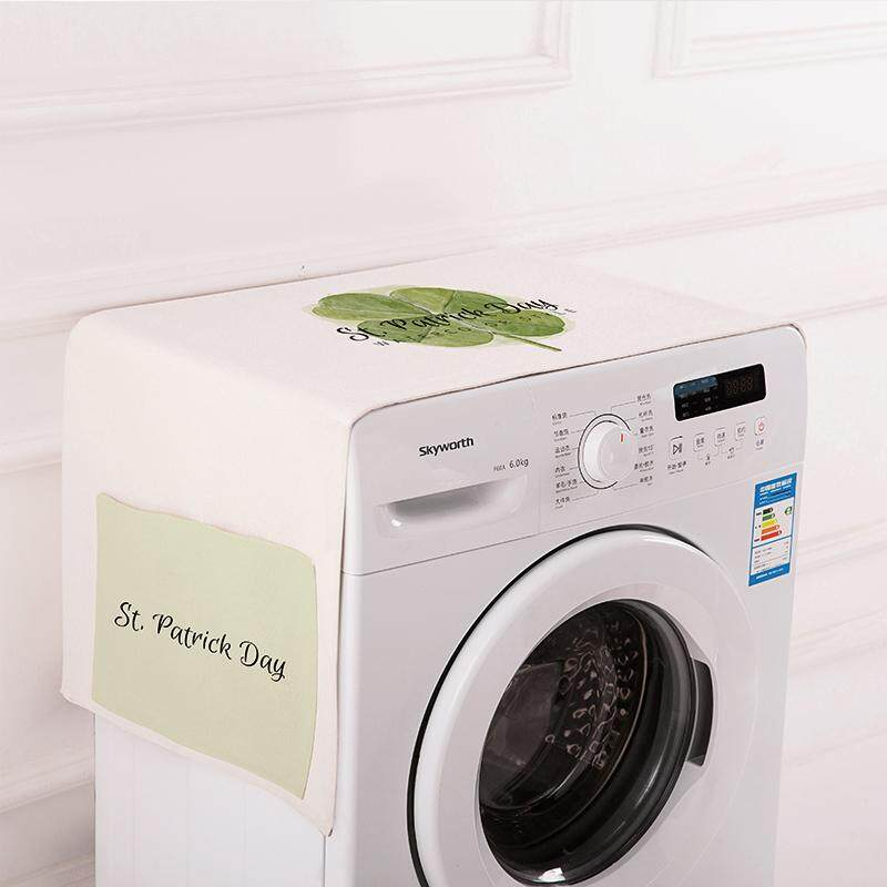 Cotton Linen Roller Washing Machine gai jin Bedside Table Cover of the Expansive Open-Door Laminoplasty of Refriderator Cover Microwave Oven Fabric Cover Dustproof Cloth