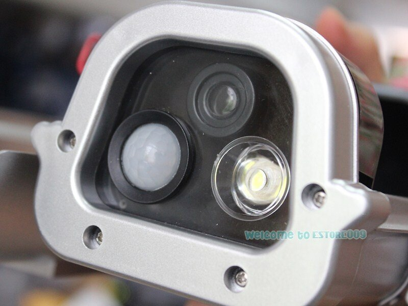... the camera indoors, under cover or want the light to flash at night, you will need to install the included rechargeable 3 AA batteries (not included).