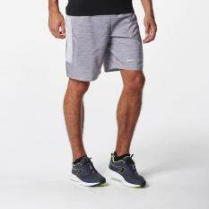 กางเกงวิ่งขาสั้นสำหรับผู้ชายรุ่น RUN DRY+ (สีเทา MOTTLED GREY)