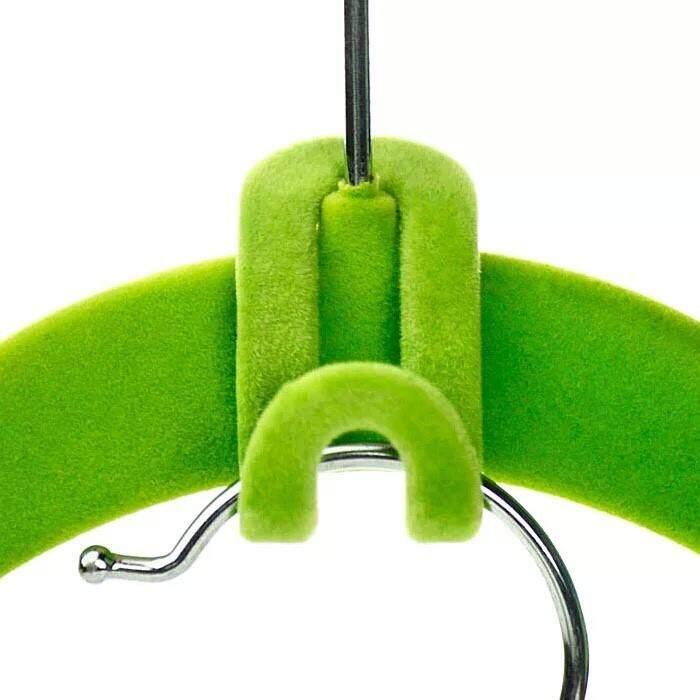 PKmall cloth hooks ตะขอแขวนเสื้อ สำหรับแขวนแบบติดไม้แขวนเสื้อ (แบบหัวเดียวมี 6 ชิ้น)